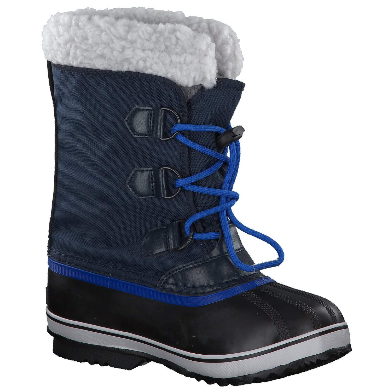 Sorel Yoot Pac Nylon Boot - Boys' Collegiate Navy/Super Blue, 6.0 by Sorel (Image #9)