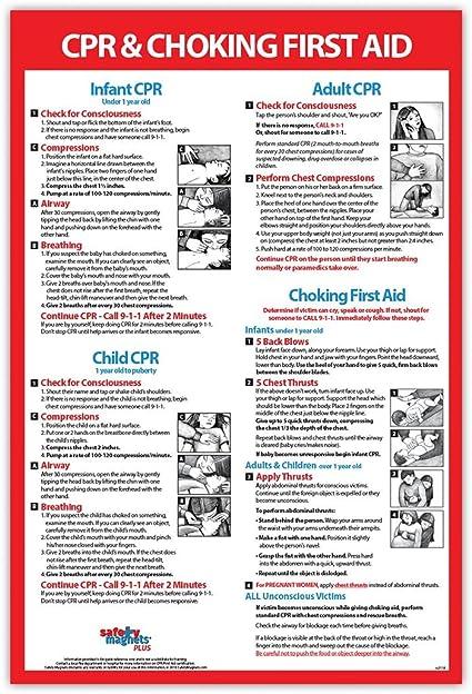 Amazon.com: Infantil, para niños y adultos CPR & asfixia ...
