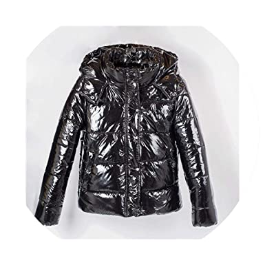 Women Coat Metal Ladies Parka Fashion Winter Warm Coat Dames Abrigos Mujer at Amazon Womens Coats Shop