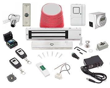electric magnetic door lock esx600 u0026 wireless buzzin remotes 600lbs