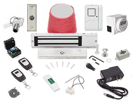 Electric Magnetic Door Lock Esx 600 Wireless Buzz In Remotes