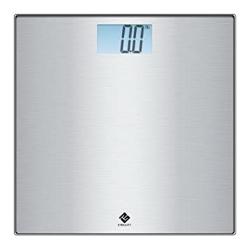 Etekcity Stainless Steel Digital Body Weight Bathroom Scale, Step On  Technology, 400 Pounds