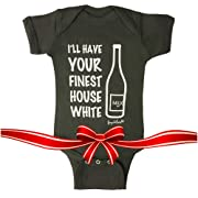 Fayfaire Outfit: Boutique Quality Funny I'll Have Your Finest House White NB-6M