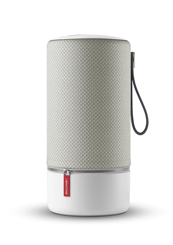 LibratoneZIPP Portable WiFi + Bluetooth Wireless Speaker – works with Alexa (Cloudy Grey) by Libratone