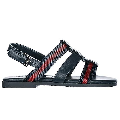 new concept ee25d 3344e Gucci Sandali Bambino Blu 21 EU: Amazon.it: Scarpe e borse