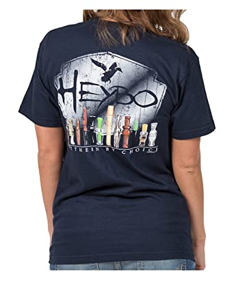cc944fb8 Amazon.com: Heybo Southern by Choice Duck Calls Short Sleeve T-Shirt ...