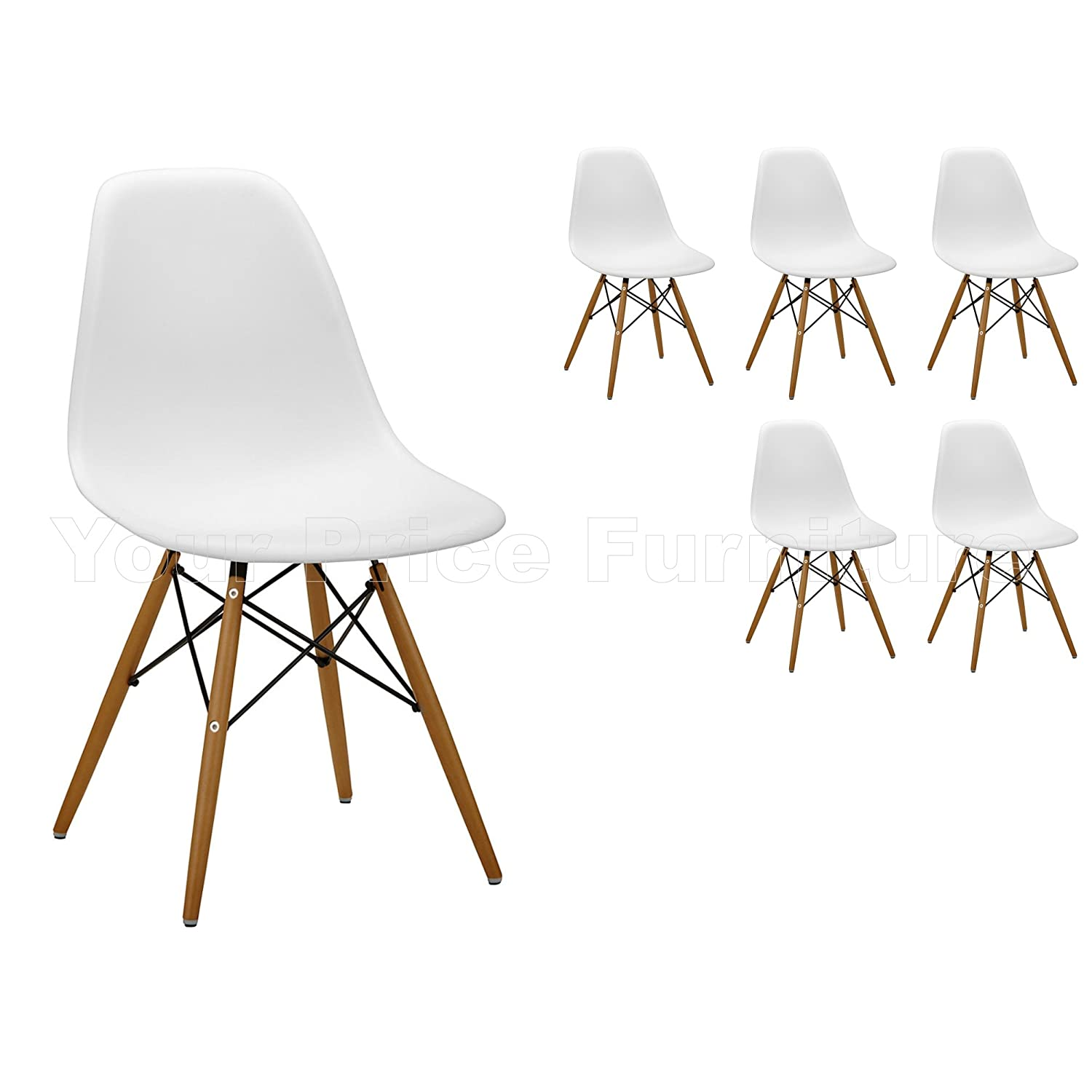 elegant se stile eames dsw eiffel in abs bianche it casa e cucina with eames se