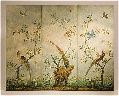 Amazon.com: Decorative Crafts 3260 Hand Painted Wall Panel: Kitchen ...