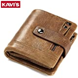 PRIME TRADERS Men's Polyester Wallet with Coin Purse Pockets PRTAZ11A_Brown