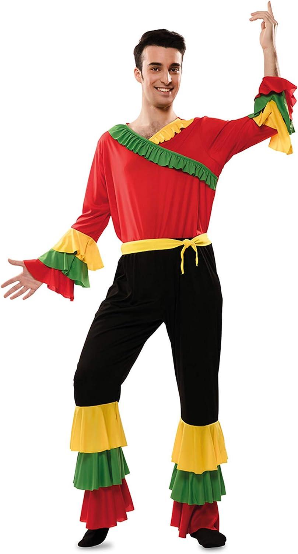 Disfraz de Rumbero Rojo para hombre: Amazon.es: Juguetes y juegos