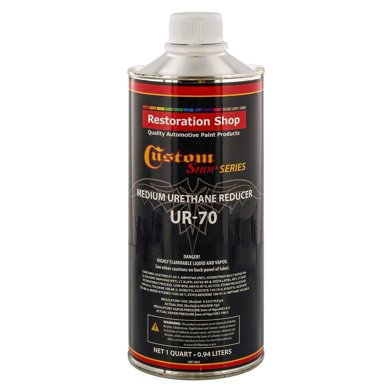 Restoration Shop/Custom Shop - UR70 Medium Urethane Reduce (Quart/32 Ounce) for Automotive and Industrial Paint Use