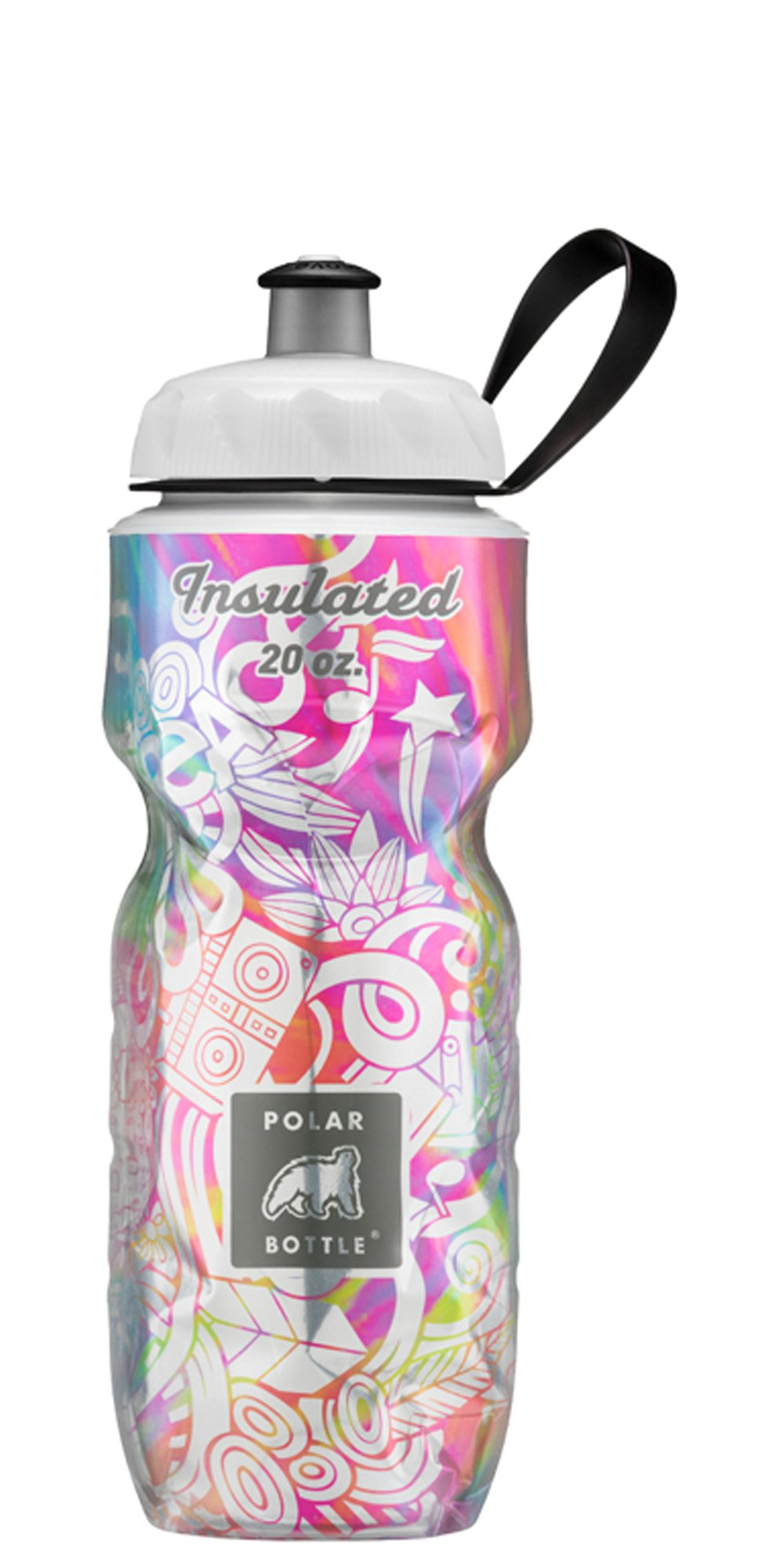 Polar Bottle Amazon Exclusive Insulated Water Bottle - 20oz. (Summer of Love) by Polar Bottle (Image #1)