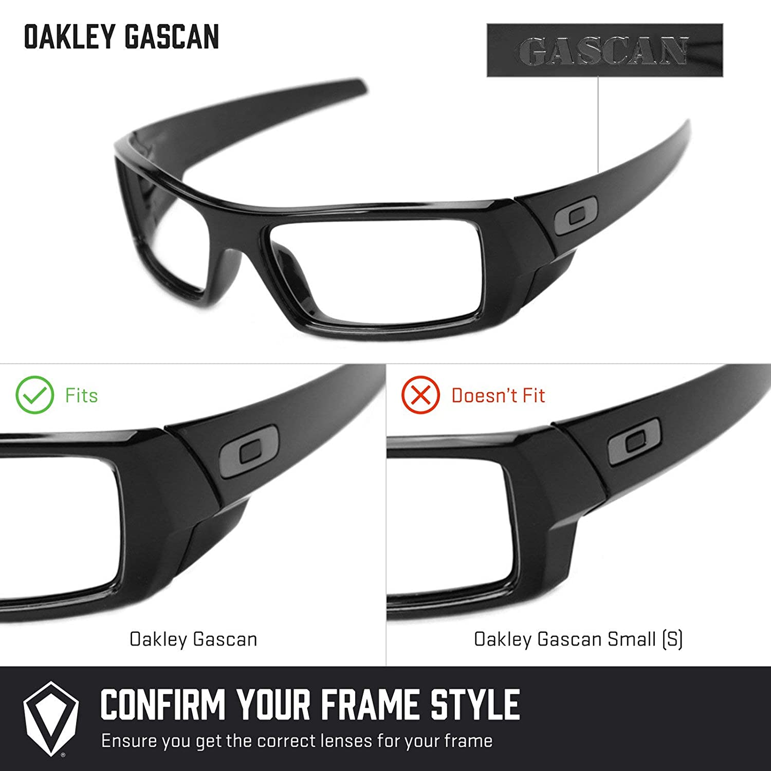 a6dd9742d2 Amazon.com  Revant Replacement Lenses for Oakley Gascan Elite Adapt Grey  Photochromic  Sports   Outdoors