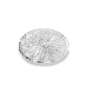 Mikasa 5194650 Blossom Glass Chip-and-Dip, 12 (Pack of 2), Clear