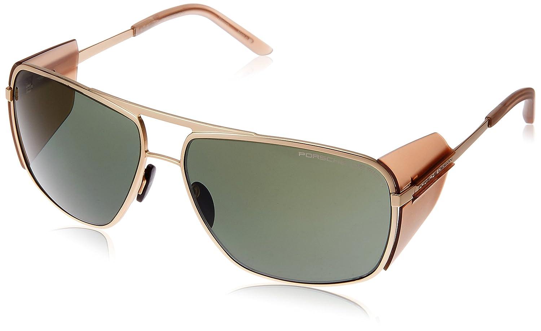 [ポルシェデザイン]PORSCHE DESIGN メガネ メンズ B01N6HHZCP 日本 64 (FREE サイズ) ゴールド ゴールド 日本 64 (FREE サイズ)