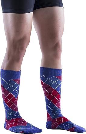 Gold Medal Girls Black Contrast Colored Motif Pattern Soft Socks 9-11