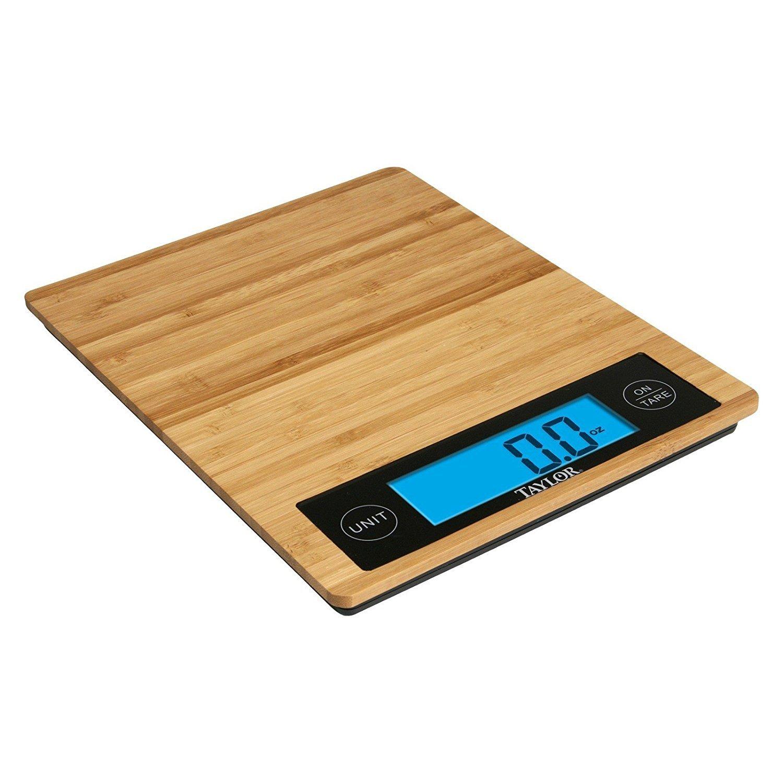 Amazon.com: Bamboo Digital Kitchen Scale: Digital Kitchen Scales: Kitchen U0026  Dining