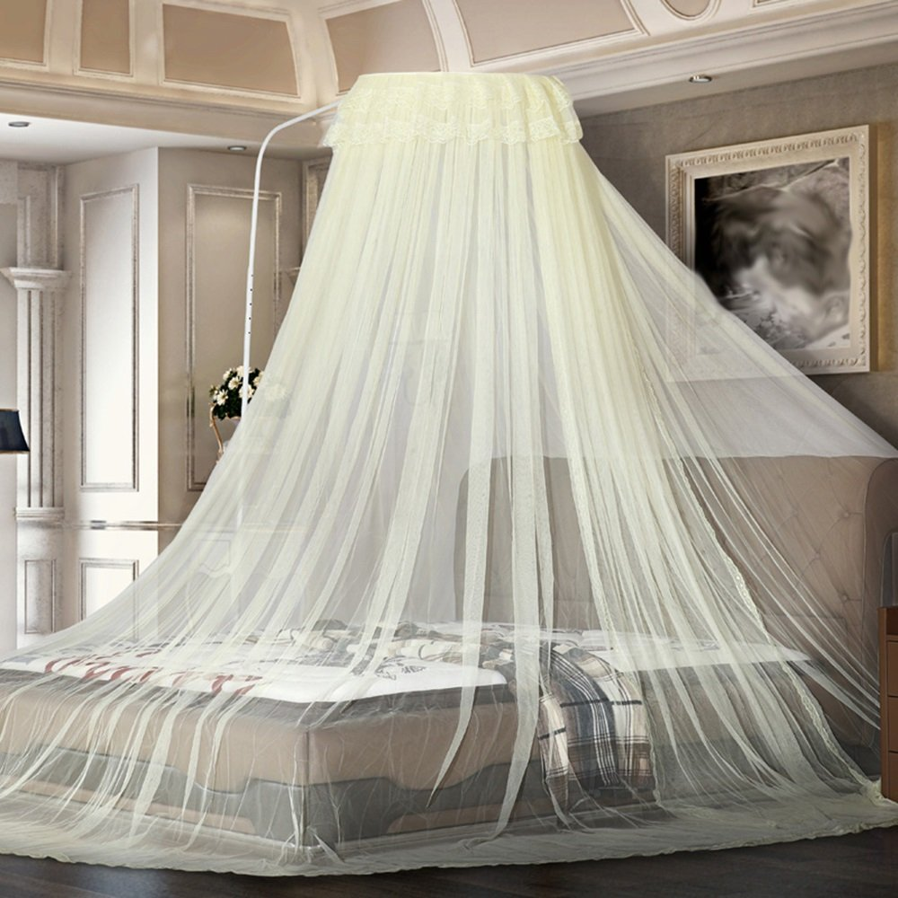 Anti-mosquito-borne mosquito nets can be adjusted with a high degree of encryption ( Color : Yellow , Size : 2.0m (6.6ft) )