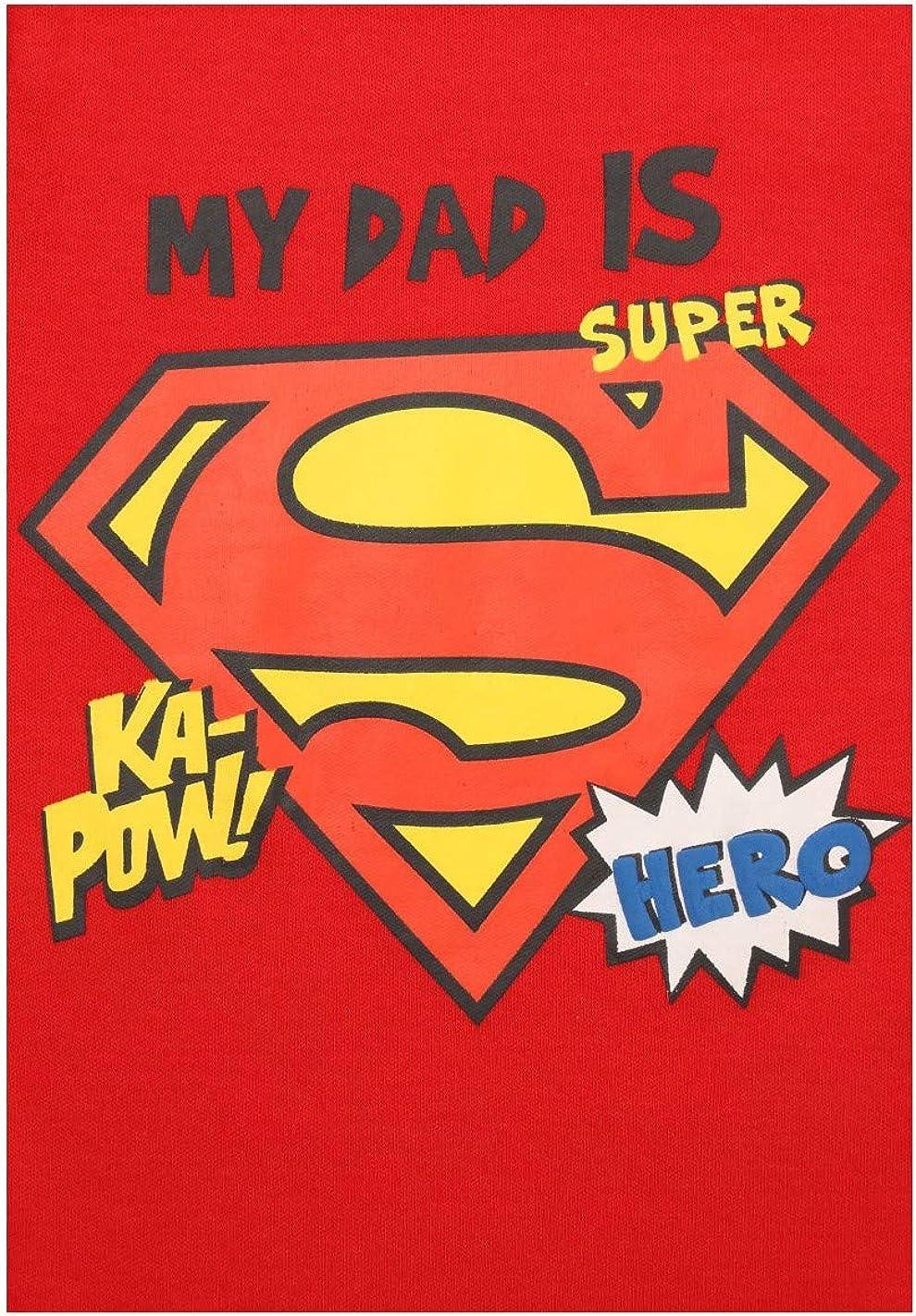 Superman Body Manches Longues b/éb/é gar/çon Rouge de 3 /à 24mois