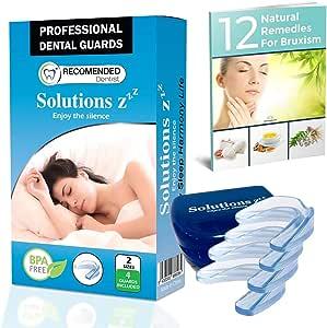Solutions ZZZ Férula dental profesional [4 PIEZAS 2