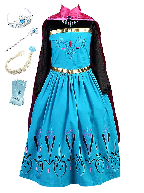 Fstory Winyee Madchen Karneval Kostum Prinzessin Kleid Eiskonigin