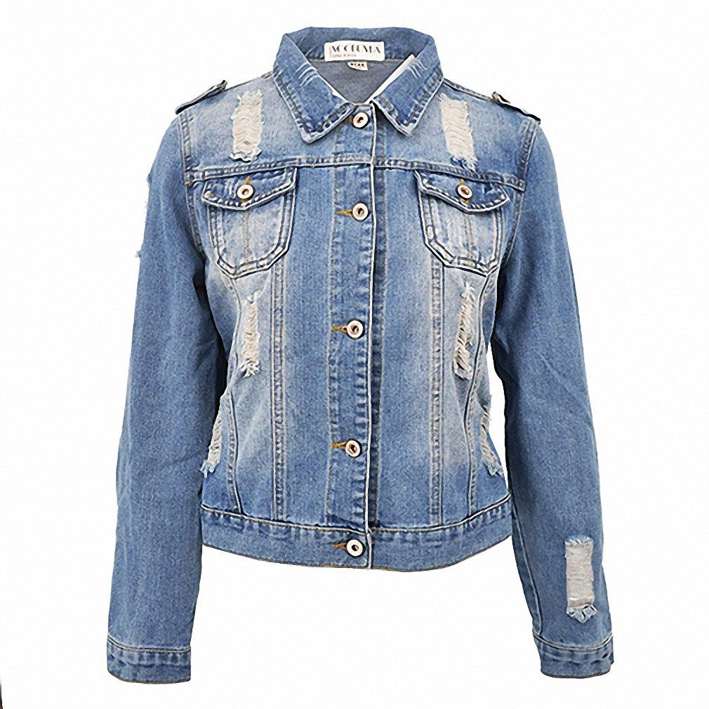 Full Plus Size 5XL 6XL Summer Denim Jacket Women Three Quarter Slim Cotton Light Washed Short Jeans Jacket Coats