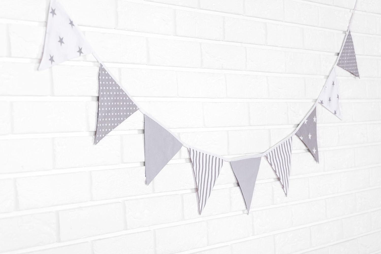 f472763c6b Amilian® Fabric Bunting Decoration Garland T01  Amazon.co.uk  Baby