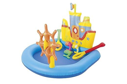 Piscina Hinchable Infantil Bestway Tug Boat: Amazon.es: Jardín