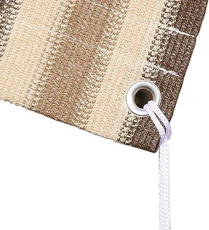 Tela Sombra ZAY Persianas Exteriores Paño de Sombra, Sombrilla para Patio Pergola Porche Techo Cobertizo para Automóvil, Cubierta de Dosel de Malla de Fácil Instalación con Cuerda Libre: Amazon.es: Hogar