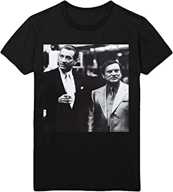Casino Film Friends Robert De Niro Joe Pesci Nicky T-shirt Camiseta Shirt Para Hombre Hombres Camisa Negra Men Mens Tshirt 100% Algodón Regalo De Cumpleaños Navidad Mujer SM MEN BLACK MEN Shirt: