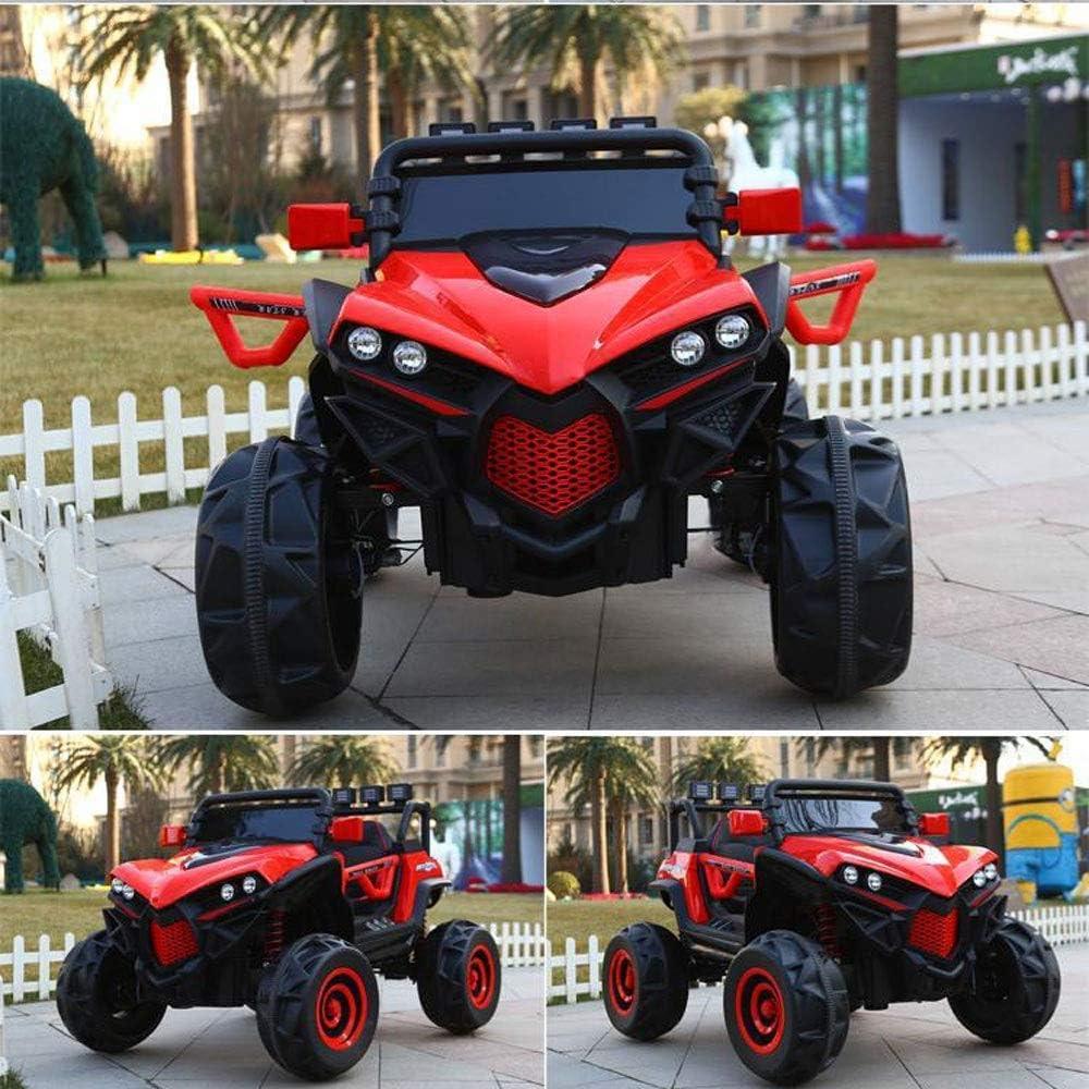 Paseo en el coche nuevo bebé niños de cuatro ruedas de accionamiento eléctrico coche de los muchachos y las muchachas pueden montar a caballo montar en vehículos de control remoto de cuatro ruedas de