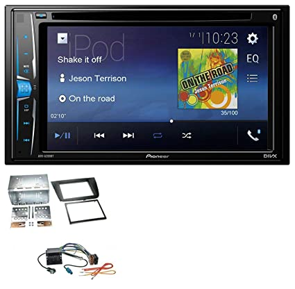 Pioneer a200bt USB DVD 2DIN Bluetooth CD MP3 Radio de coche para Seat Altea Toledo Altea
