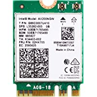 Authentic Intel AX200NGW Wi-Fi 6 11AX WiFi Module 2 x 2 MU-MIMO Dual Band Wireless Card with Bluetooth 5.0 Internal WiFi…