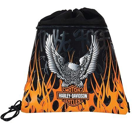 e8296d2920 Harley Davidson 11-1989 Sacchetto per Calzature, Multicolore: Amazon ...