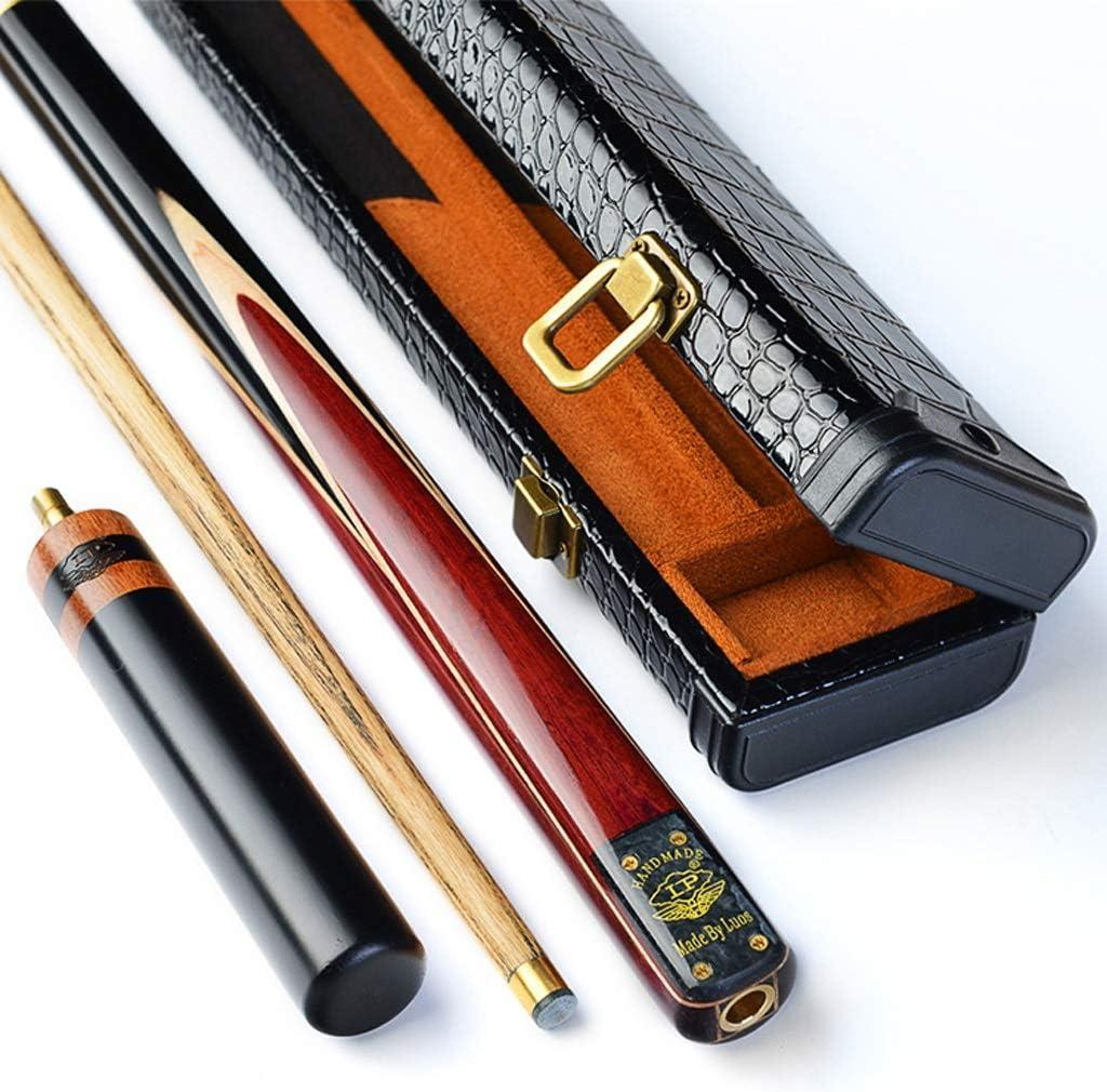WXS 3/4 Taco de Billar de Snooker, Hechas a Mano con Eje de Fresno de 57 Pulgadas Puntas de 9.8 mm con Accesorios de extensión Estuche rígido/Bolsa for Elegir (Color : C):