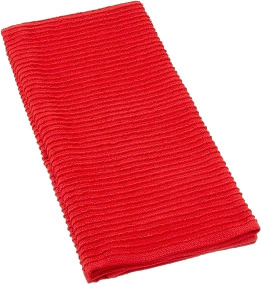 12 x 12 inches MUkitchen 100/% Cotton Ridged Dishcloth Aquamarine