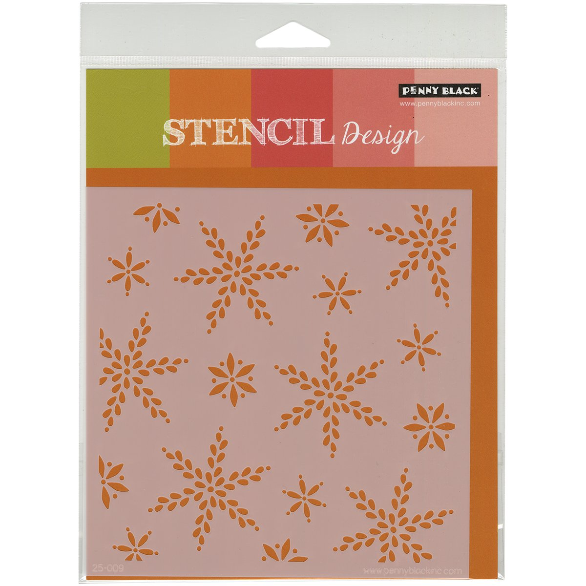 Penny Negro plástico Plantillas X DE 4,5 cm, Nieve Dance Dance Nieve 6a4756