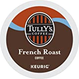 Tully's Coffee French Roast Keurig Single-Serve K-Cup Pods, Dark Roast Coffee, 72 Count (6 Boxes of 12 Pods)