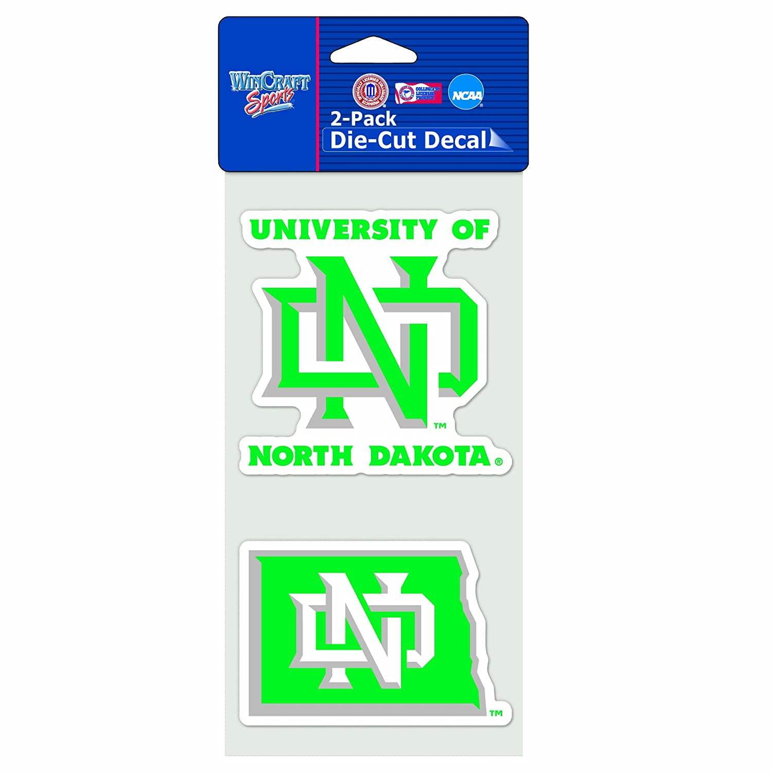 Wincraft NCAA North Dakota State University Bison 2 x 17 Perfect Cut Color Decal