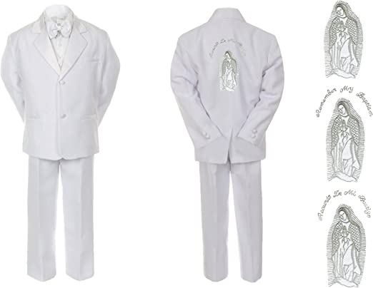 New Baby Boy White Christening Baptism Special Gown Outfit size M L XL 2T 3T 4T