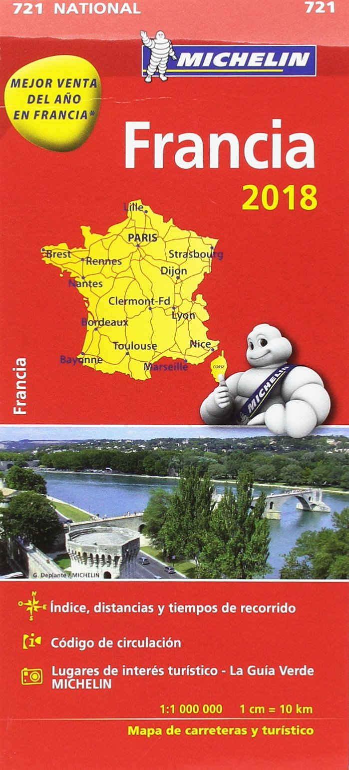 Mapa National Francia (Mapas National Michelin): Amazon.es: Vv. Aa, Vv. Aa: Libros