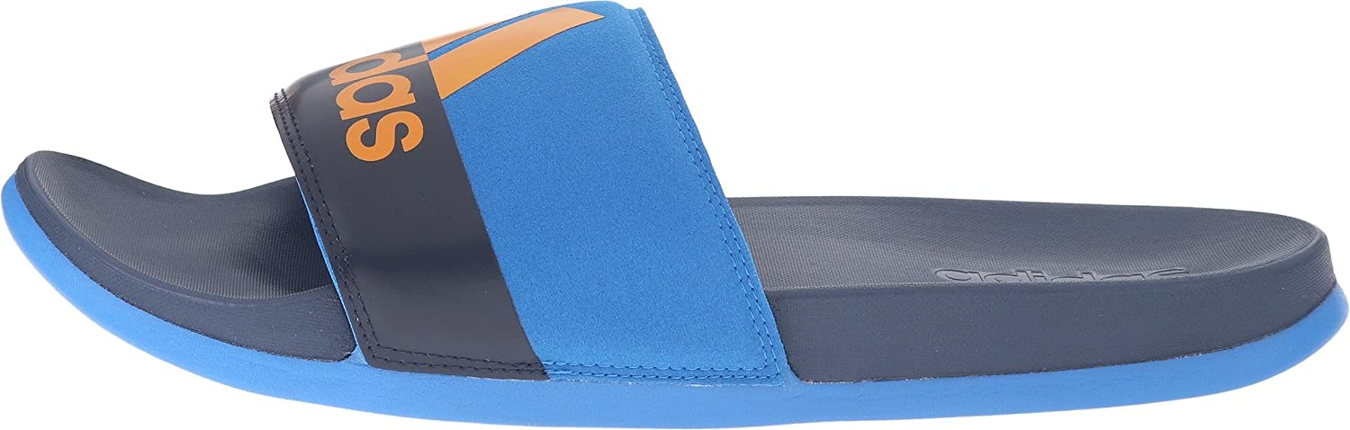 0fe65e75f75735 Adidas Adilette CF Ultra Mens Training Slide Shock Blue-Navy-EQT Orange 9  D(M) US  Amazon.in  Shoes   Handbags