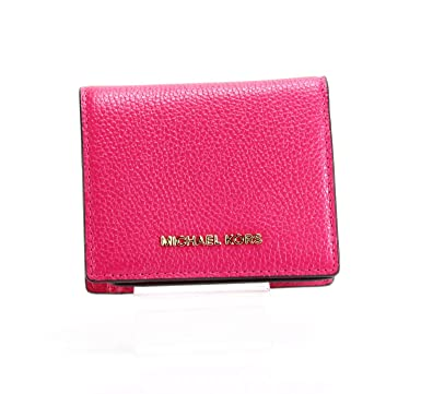 63e920317604a0 Image Unavailable. Image not available for. Color: MICHAEL Michael Kors  Money Pieces Flap Card Holder Ultra Pink