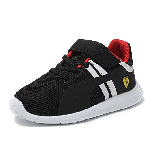 07eb1b02be38 Puma F116 SF Ferrari Kids Junior Boys Motorsports Casual Touch Fastening  Trainer Shoes  Amazon.co.uk  Shoes   Bags
