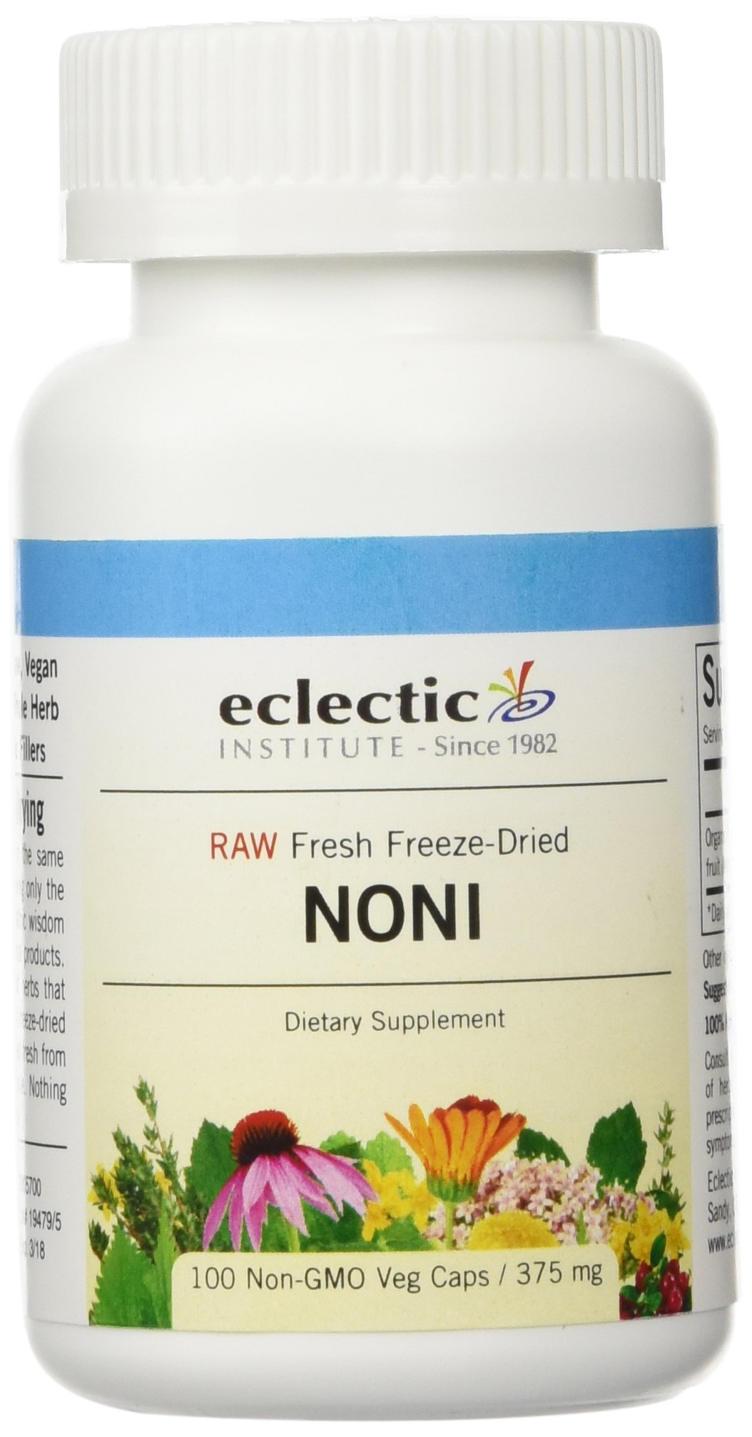 Eclectic Institute - Noni Freeze-Dried, 375 mg, 100 capsules by Eclectic Institute