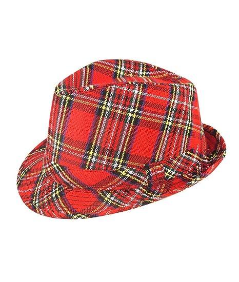 Hat Tartan Trilby Scotts scottish Scotland Burns Night Bay City Rollers   Amazon.co.uk  Toys   Games 91ab5ab5f27a