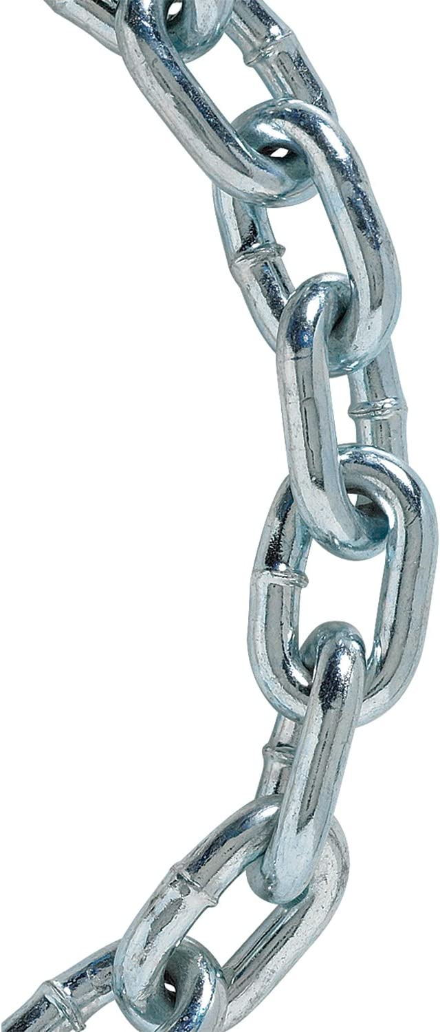 3//16-inch by 10-feet Electro Galvanized Koch Industries A01162 Grade 30 Proof Coil Chain