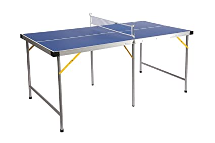 Lion Sports Folding Portable Table Tennis Ping Pong Table, 5u0027