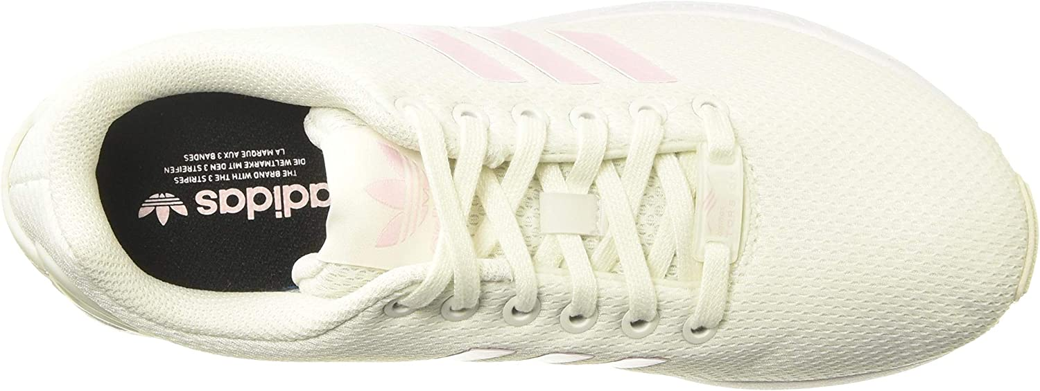 Adidas ZX Flux W, Sneakers Basses Femme White Tint S18 Clear Pink Core Black
