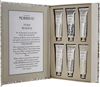 Morris & Co Hand Cream Library, Pure Morris, 6ct